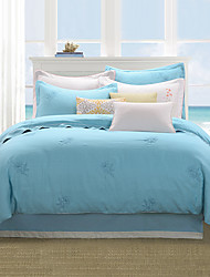 turqua QUESTA BOSSA MIA 100% Linen Entry Lux 4pcs Bedding Duvet Cover Set Including Comforter Case Fitted Sheet Pillowcases