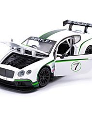 Carro de Corrida Carrinhos de Fricção Brinquedos de carro 1:28 Metal Arco-Íris Modelo e Blocos de Construção