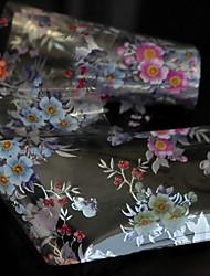 120cmx4cm The latest design nail stickers nail foil foil transfer film technology Multi-color flower Jinyingzi