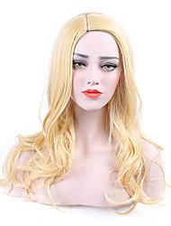 Perruques synthétiques longues perruques blanches à la chaleur pour les femmes