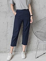 Signer harlan 2017 nouveau pantalons élastiques pantalons élastiques pantalons fermés pieds était mince pantalon féminin sauvage
