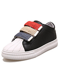 Women's Sneakers Summer Mary Jane Leatherette Outdoor Office & Career Casual Low Heel Hook & Loop Walking