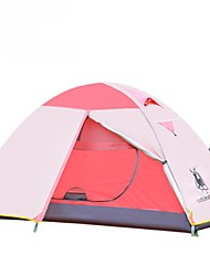 1 человек Двойная Складной тент Однокомнатная Палатка >3000mm Сохраняет тепло Водонепроницаемость С защитой от ветра Дожденепроницаемый-