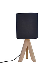 Contemporary Table Lamp Fabric Lampshade