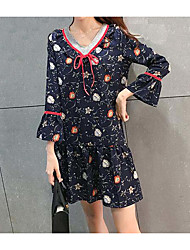Sign Chiffon Dress