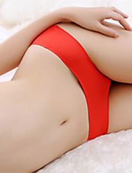 Mujer Retro Sólido Panti Modelador,Rayón
