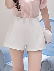 Sign Ms. Slim chiffon summer Korean loose a word casual female trousers spring and summer high waist wide leg pants