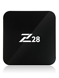 Z28 RK3328 Android TV Box,RAM 2GB ROM 16GB Quad Core WiFi 802.11n Bluetooth 4.0