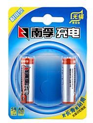 Nanfu aa никель-металлогидридная аккумуляторная батарея 1.2v 1600mah 2 pack