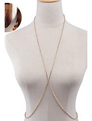 Women's Body Jewelry Body Chain Alloy Rhinestone Fashion Star Jewelry Special Occasion Birthday Gift Casual Christmas Gifts 1pc