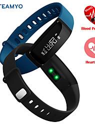 Blutdruck intelligentes Armband Pedometer intelligentes Armband Herzfrequenzmonitor smartband bluetooth Eignung für android ios Telefon