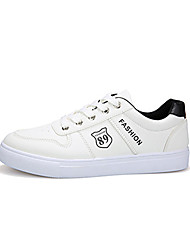 Men's Sneakers Spring Summer Fall Winter Comfort Fabric Casual Flat Heel Lace-up Walking