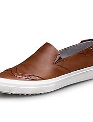 conforto queda sneakers verão dos homens pele de porco escritório ao ar livre&ocasional carreira