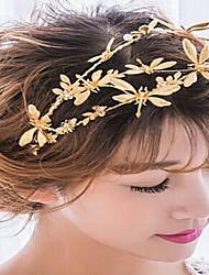 Alloy Headpiece-Wedding Special Occasion Casual Outdoor Headbands Flowers Wreaths Hair Clip Hair Stick Hair Tool 1 Piece
