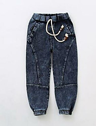 Boys' Going out Solid Jeans Spring