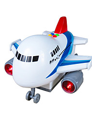 Planes & Helicopter Toys Car Toys 1:18 ABS Plastic White Blue Model & Building Toy