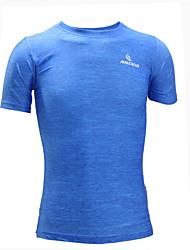 Homme Tee-shirt de Course Manches Courtes Séchage rapide Design Anatomique Résistant aux ultraviolets Perméabilité à l'humidité