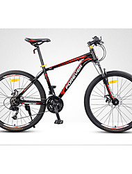 Mountain Bike Cycling 24 Speed 24 Inch SUNRUN KDSG-04-3/KDSG-04-8 Double Disc Brake Non-Damping Steel Frame Non-DampingOrdinary/Standard
