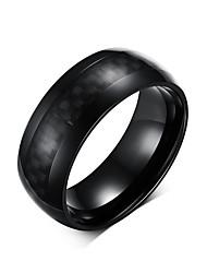 Ring Freundschaft Stahl Kreisform Schwarz Schmuck Für Alltag 1 Stück