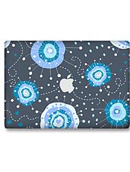 For MacBook Air 11 13/Pro13 15/Pro with Retina13 15/MacBook12 Cartoon Jellyfish Decorative Skin Sticker Glow in The Dark