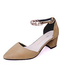 Women's Loafers & Slip-Ons Spring Summer Comfort Fleece Outdoor Office & Career Casual Low Heel Chain Walking