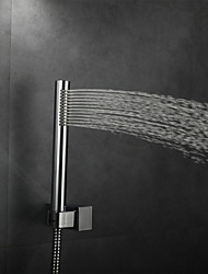 Contemporary Rain Shower Chrome Feature for  Rainfall  Shower Head  Bathroom