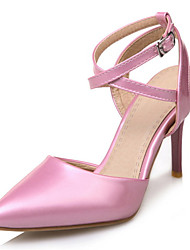 Women's Shoes Stiletto Heel Pointed Toe Ankle Strap Sling Back Pumps More Color Available