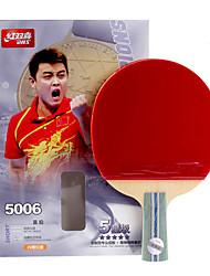 5 Estrelas Tabela raquetes de tênis Ping Pang Madeira Cabo Curto Espinhas Interior Espetáculo Praticar Esportes de Lazer-#
