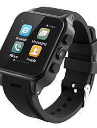 x3 mtk6572 android 4.4 512Mo positionnement GPS 4gb téléphone SmartWatch appel bluetooth