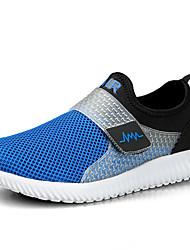 Men's Sneakers Comfort Light Soles Tulle Spring Summer Athletic Casual Outdoor Walking Comfort Light Soles Flat HeelGray Purple Navy Blue