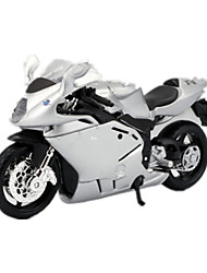 Motorcycle Toys Car Toys 1:18 ABS Plastic Rainbow