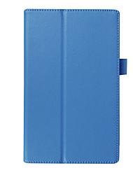 caso tampa lichia pu para guia lenovo Tab3 3 8 850m tab3-850 tb-850m tb3-850m 8,0 polegadas