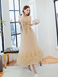 Party dress  toast clothing spring Slim dress real shot