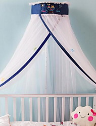 Luxo crib mosquito rede chão