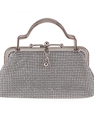 L.WEST Woman Fashion Diamonds Evening Bag
