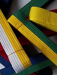 Cinto de taekwondo colorido para homens e mulheres