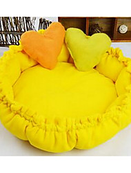 Pet dog soft  bed with cushion