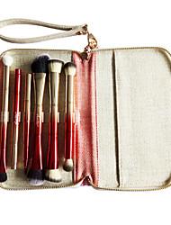 New MengQi Ni Double Color Gradient Multi-Function Makeup Brush Set Of Exquisite Fashion Portable Double Telescopic Makeup Brush Sets
