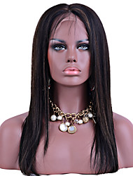 Highlight T1B/27 Color Lace Front Human Hair Wigs Silky Straight Hair 100% Peruvian Virgin Hair Glueless Wigs for Woman