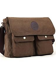 Men Shoulder Bag Canvas All Seasons Casual khaki