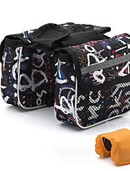 Personality Bilateral Bicycle Bag Mountain Bike Tube Saddle Bag All-in-one Front Beam Bag