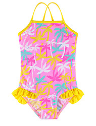Girls Swimwear 2017 Summer Toddler Bathing Suit Kids One Piece Swimsuit Girls Toddler Swimwear Floral Print Kids Swimwear Bikini