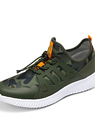 Men's Athletic Shoes Spring Summer Comfort Fabric Athletic Casual Lace-up Walking