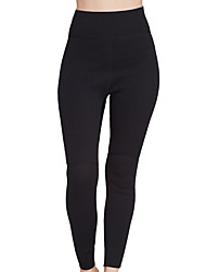 SBART Mujer 2mm Pantalones de neopreno Diseño Anatómico Transpirable Compresión Nylón Neopreno Traje de buceo Medias/Mallas Largas Trajes