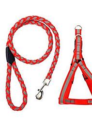 Dog collar  Leash Adjustable/Retractable Nylon