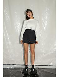 Han Guoguan net nouvelle mode de printemps sauvage chemise à manches longues arrière creux