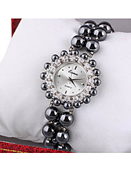 Women's Fashion Watch Quartz Jade Band Black