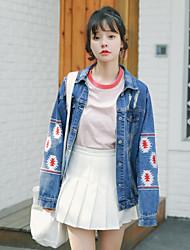 vicina sorgente coreano Istituto di vento sciolto giacca di jeans femminile selvaggio denim camicia a maniche lunghe marea