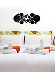 1PS   DIY  Fashion Leisure 3D Wall Stickers 3D Wall Stickers Mirror Wall Stickers Decorative Wall StickersGlass Material Home Decoration Wall Decal