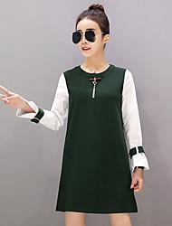 European grand prix 2017 primavera novos europeus moda bens mulheres coreano longa seção de fragrante vento fraco dois maré vestido